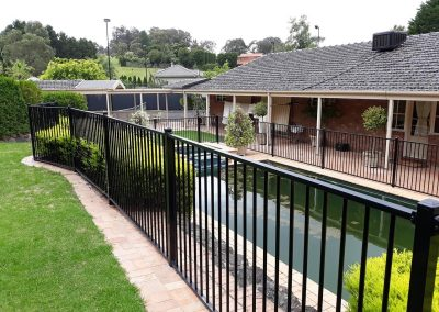 Aluminum & Steel Pool Fencing Melbourne | Lockfast Fencing