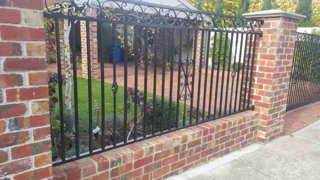 Brick Fences