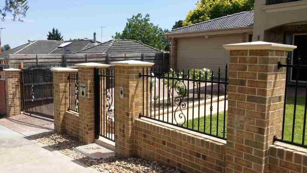 Brick/Steel Fence Contractors & Installers