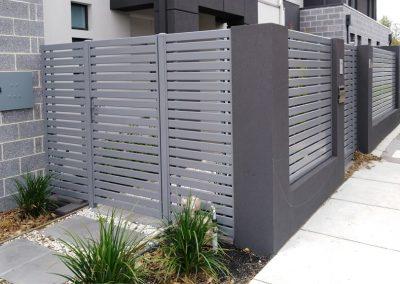 Slat Fencing Melbourne | Lockfast Fencing