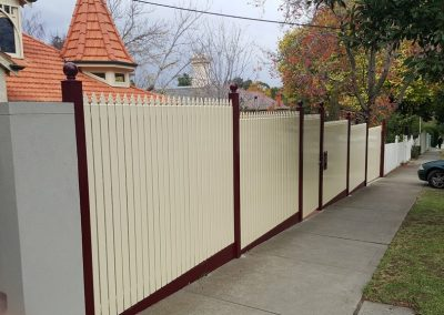 Steel Picket Fencing Melbourne | Lockfast Fencing Melbourne