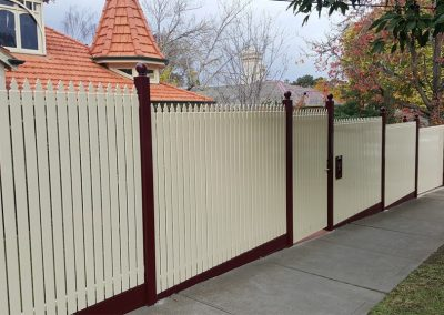 Steel Picket Fencing Melbourne | Lockfast Fencing
