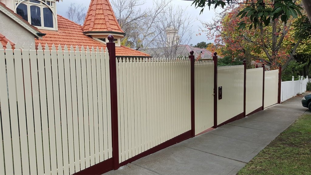 Steel Picket Fences and Gates