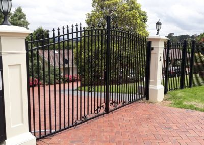 Wrought Iron Gates Melbourne | Lockfast Fencing