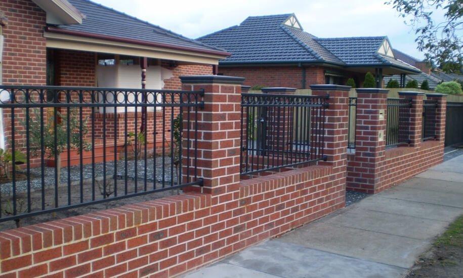Brick Fencing Melbourne | Lockfast Fencing